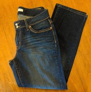 Levi's Curvey straight jeans